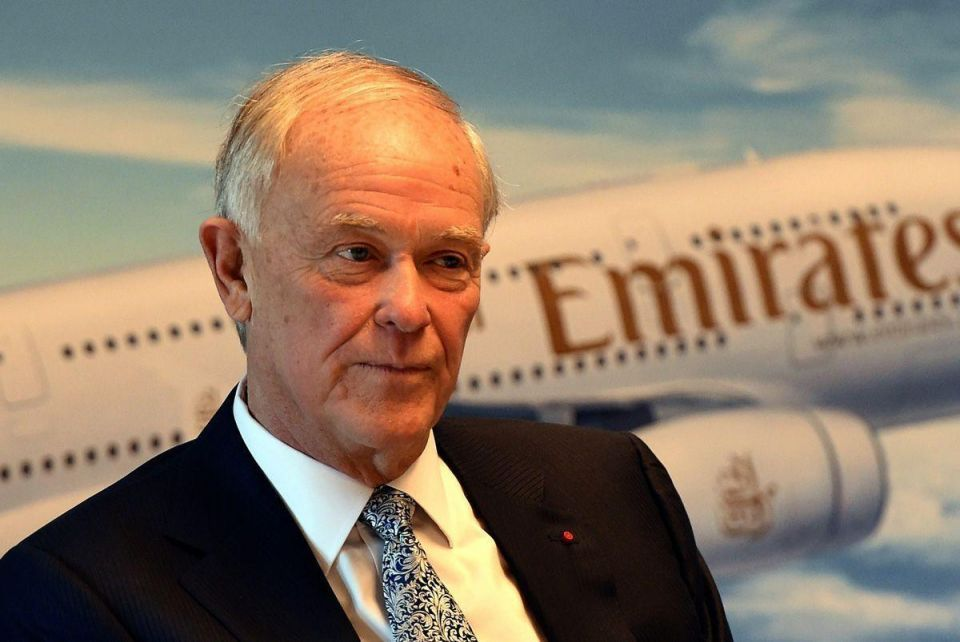 Emirates' longserving boss to hand over controls this year