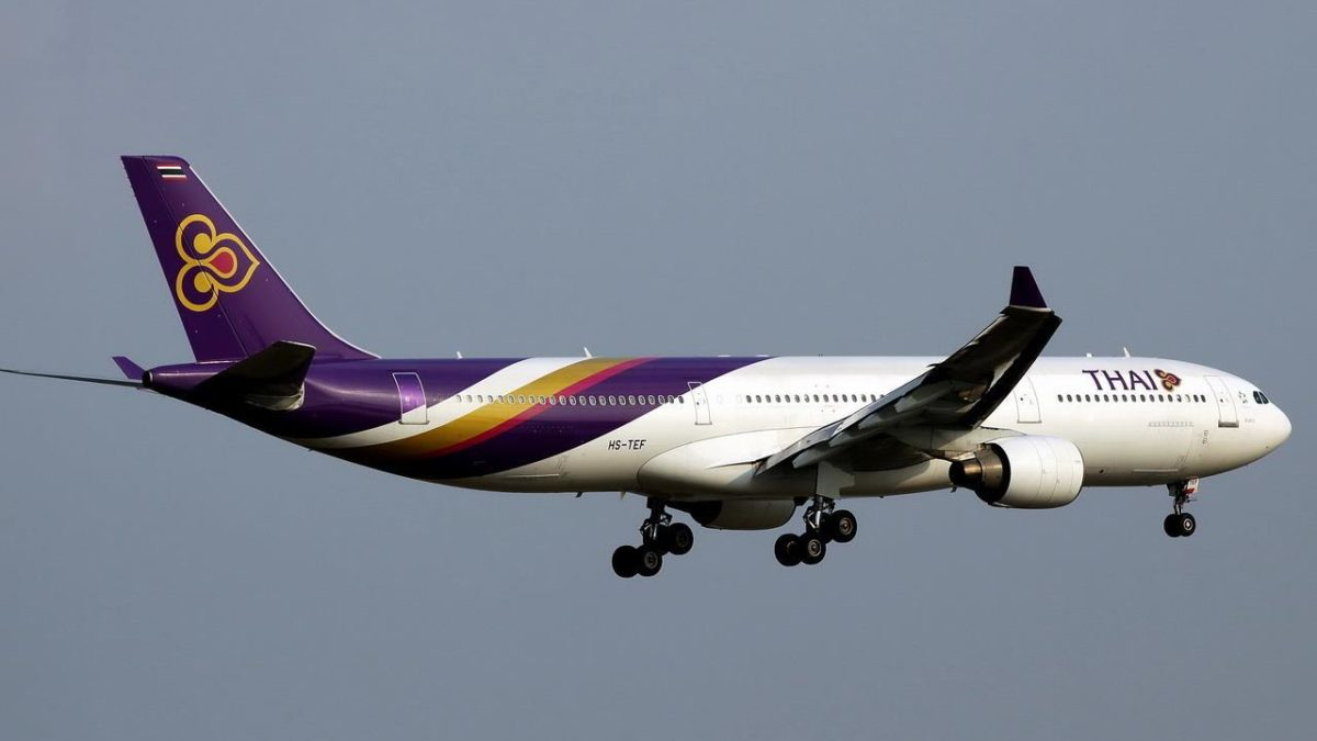 THAI Operates Two Special Flights from Japan