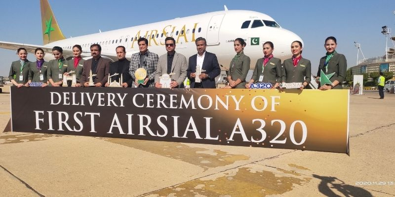 Delivery Ceremony of First AirSial A320