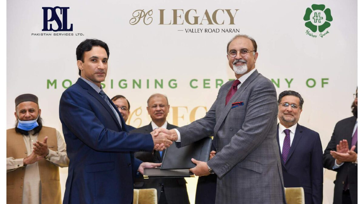 Hashoo Group to launch PC LEGACY Hotel in Naran soon
